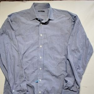 Burberry men's dress shirt size 16 neck,